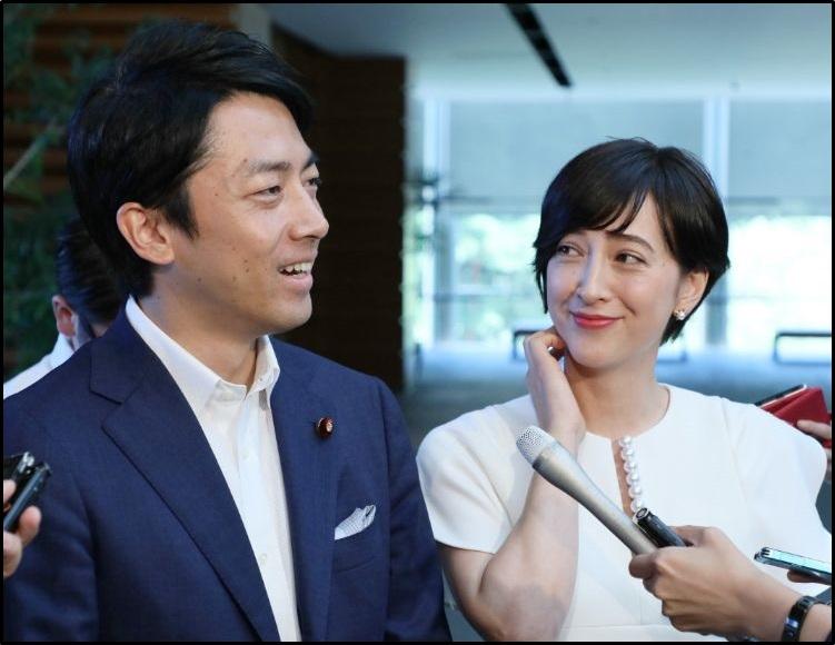小泉進次郎、滝川クリステル、結婚