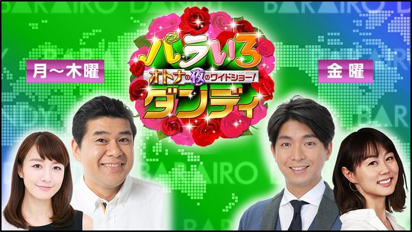 新井麻希、アナウンサー、バラいろダンディ