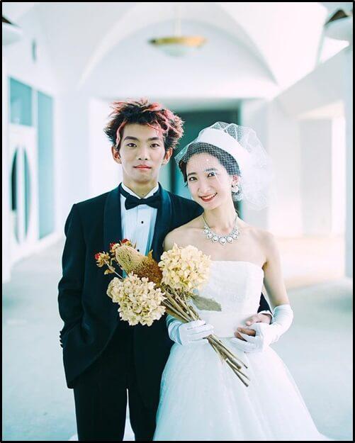 せきゆー、白藤ひかり、結婚