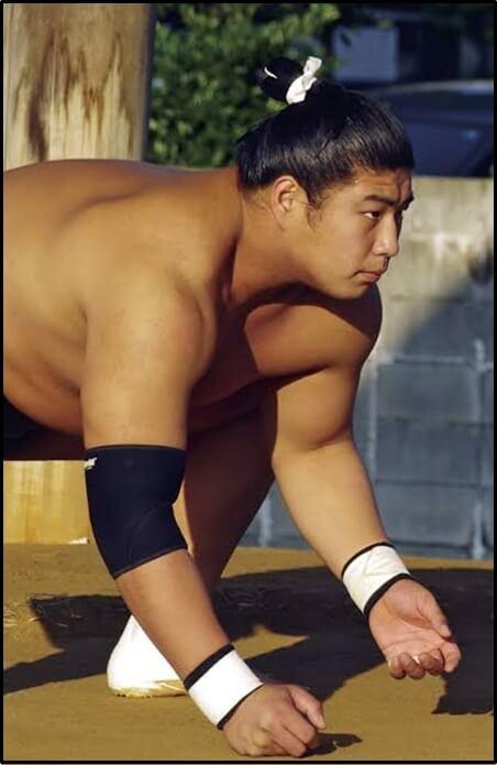 若元春、相撲、力士