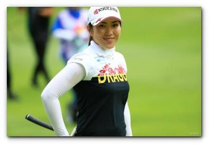 笠りつ子、ゴルフ