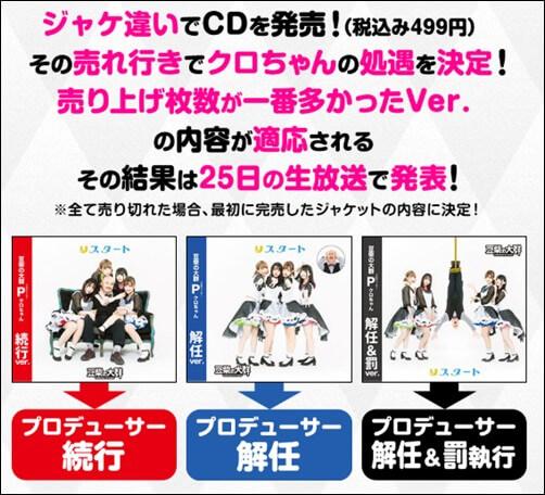 モンスターアイドル、グループ名、豆柴の大群、CD、継続、アイカ、ミユキ、ハナエ、ナオ