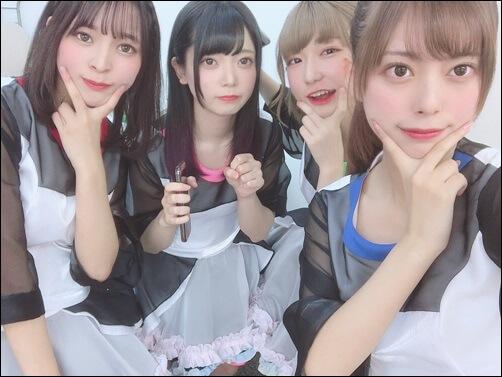 モンスターアイドル、グループ名、豆柴の大群、アイカ、ミユキ、ハナエ、ナオ