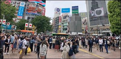 クラスターフェス、渋谷