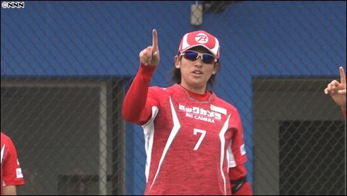 ソフトボール、上野由岐子