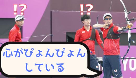 古川高晴(アーチェリー)「心がぴょんぴょん」にごちうさファン歓喜