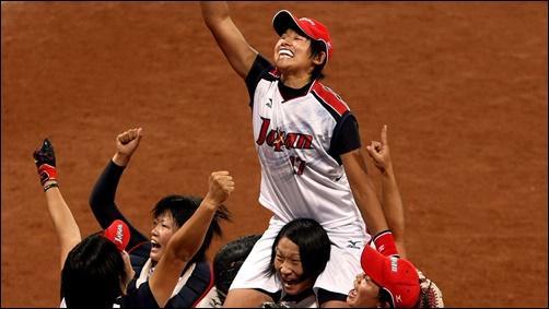 ソフトボール、上野由岐子、東京オリンピック、日本代表、金メダル